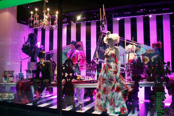 Alice In Harrods Wonderland The Window Display Blog