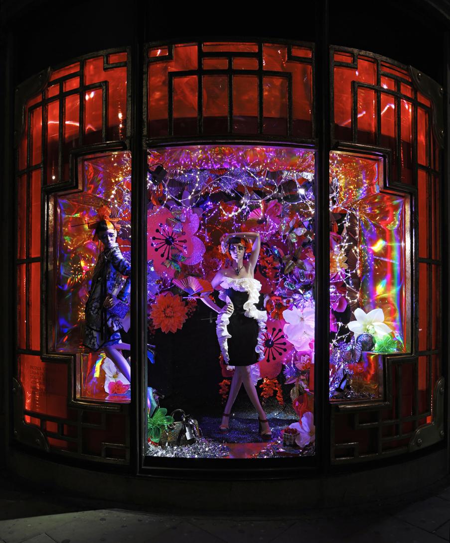 Fashion the window display blog for Harvey windows